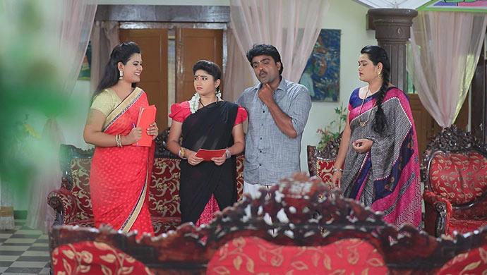 A Still Of Maya, Belli, Shanmugha And Sharmila