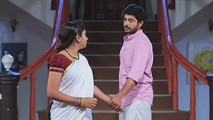 A Still Of Muthu And Belli