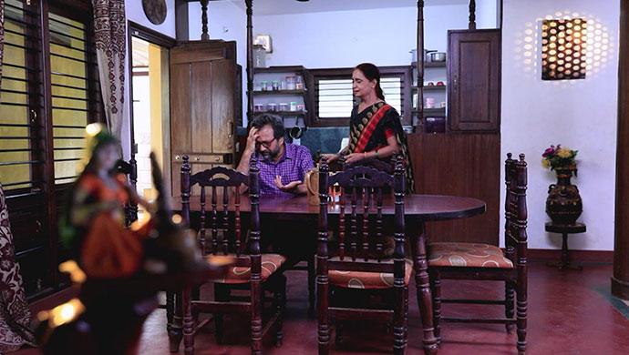 A Still Of Prasad And Tulasi
