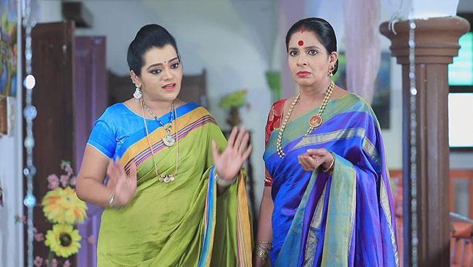 A Still Of Sharmila And Neelambari