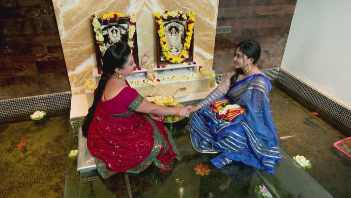 A Still Of Suhasini And Sarika