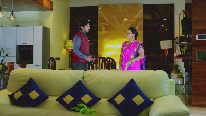 A Still Of Vedanth And Suhasini