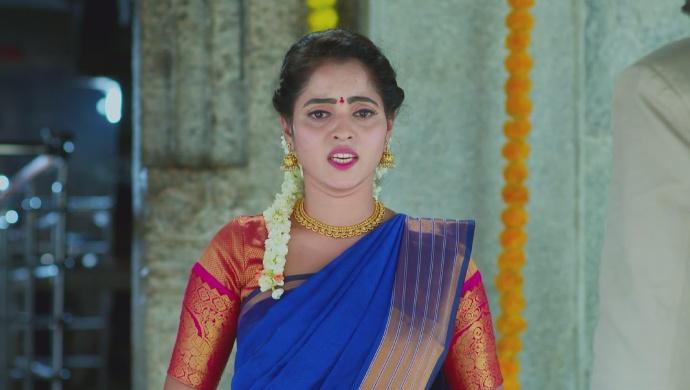 An Emotional Still Of Aarthi