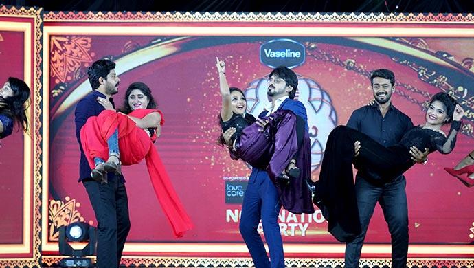 An Exclusive Still Of Belli-Muthu, Vedanth-Amulya And Rishi-Kamali
