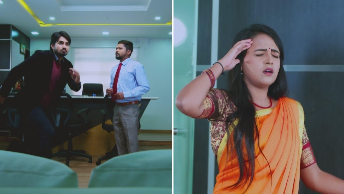 Vedanth Rushes Towards Amulya As She Is About To Faint