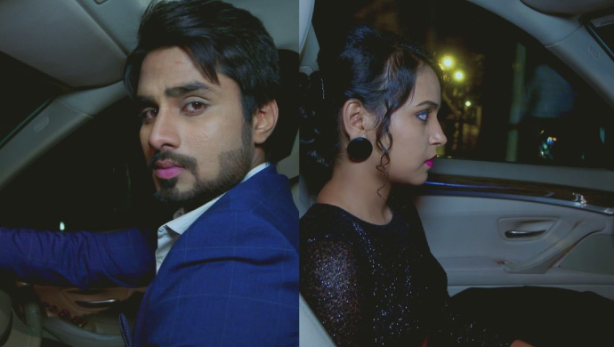 A Collage Of Vedanth And Amulya