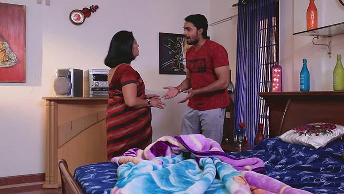 A Still Of Aparna And Krish