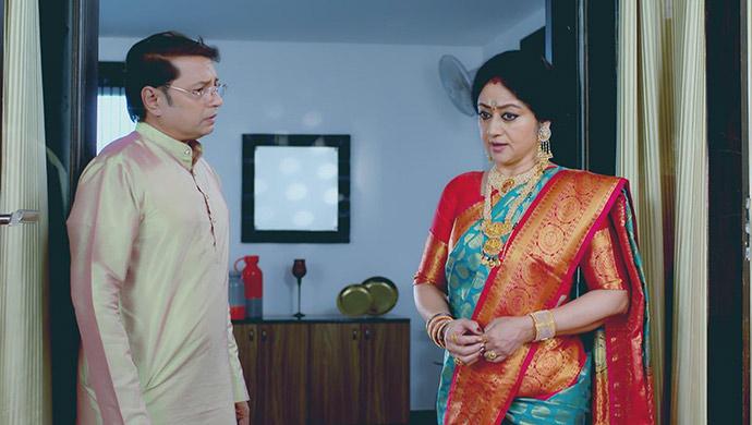 A Still Of Raghu And Akhila