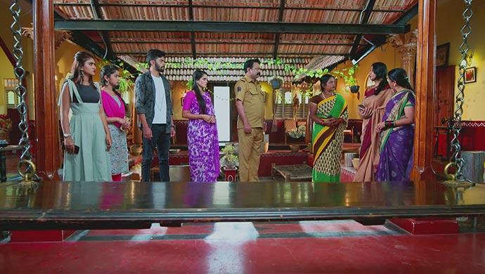 A Still When Manjunath Supports His Children