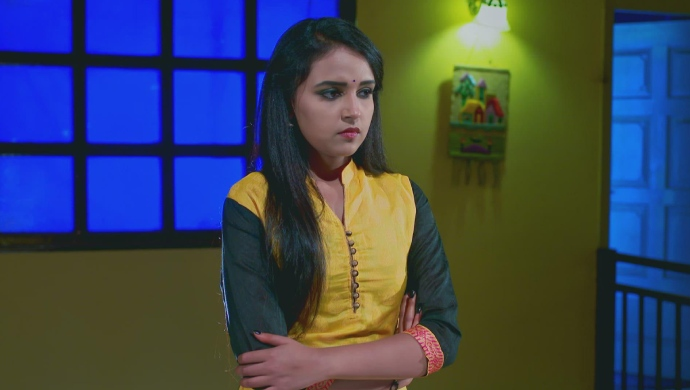 A Worried Still Of Amulya