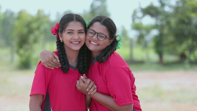 An Ecstatic Still Of Kamali And Ningi