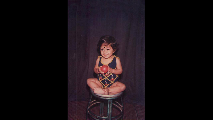 A childhood photo of KGF actor Yash