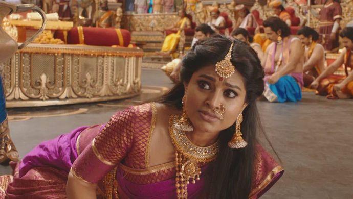Draupadi seeks Krishna's help