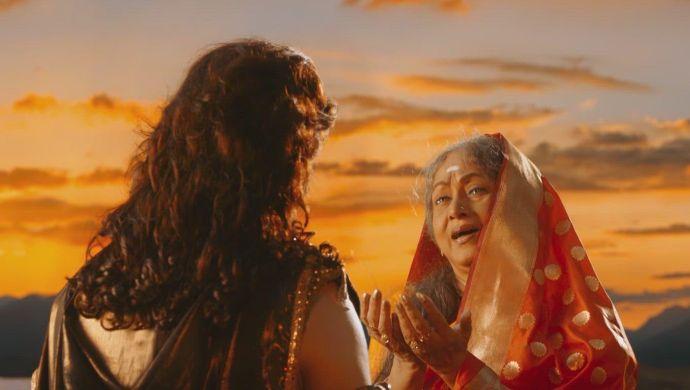 Karna meets Kunti