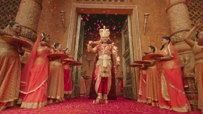 Duryodhana is crowned the king