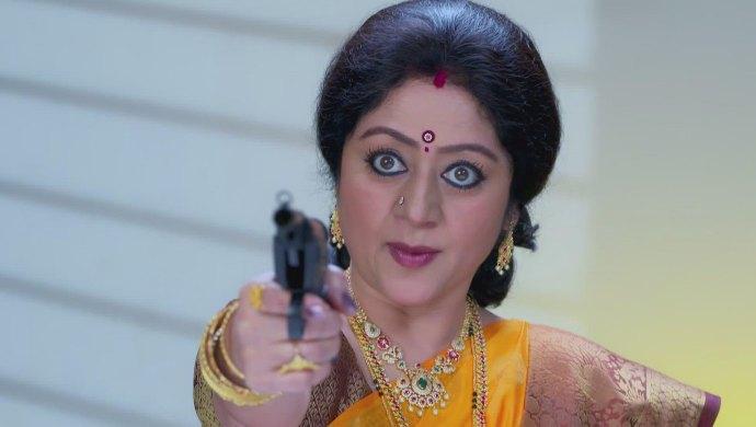 Akhila Points The Gun