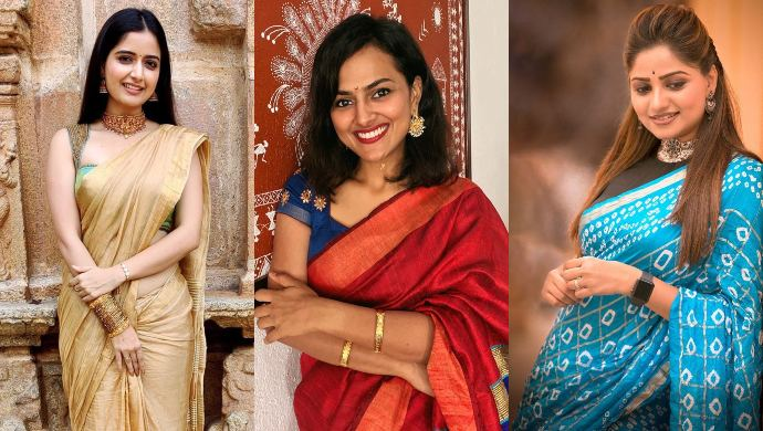7 Of Your Favourite Actresses Bring Sexy Back With Their Mix And Match Traditional Outfits