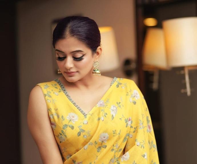 Who Wore The Ruffle Saree Better? Priya Mani Or Rachita Ram