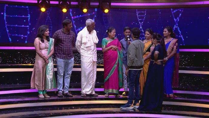 A fun time with the contestants