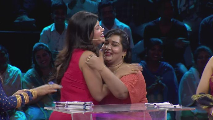 A sentimental moment for Anika and her mother