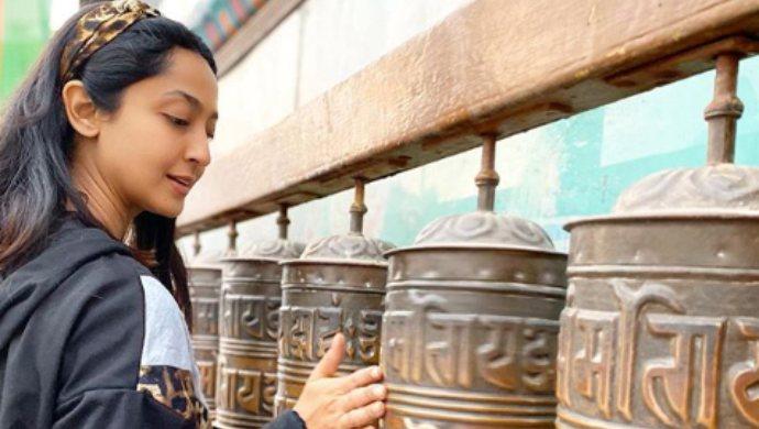 Aindrita Ray enjoying her time in Nepal