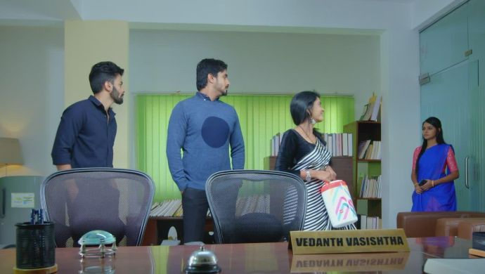 Gattimela 24 February 2020 Preview_ Adya And Vikranth Come To The Office To Meet Vedanth