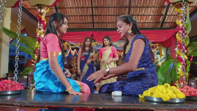 Gattimela 26 February 2020 Preview_ Amulya Tells Sahithya About Vedanth And Herself