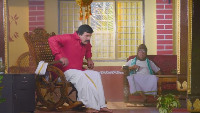 Parmeshwara talks to his father
