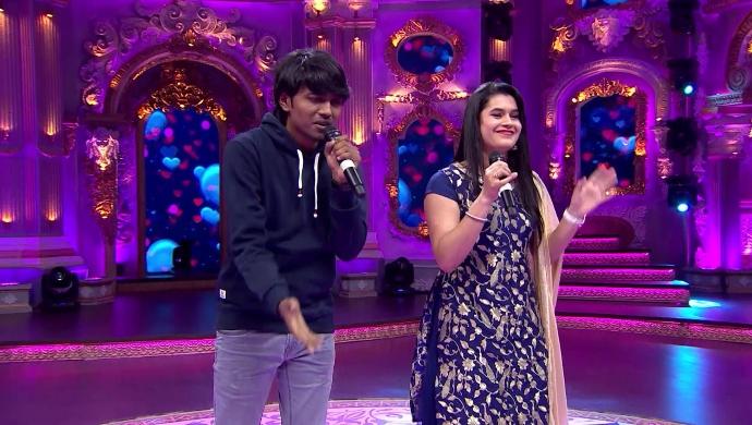 A great performance by Darshan and Vishwatha