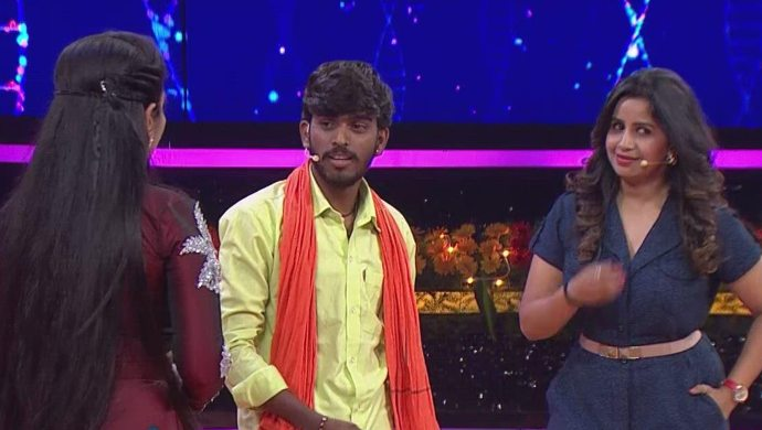 Anchor Anushree and Hanumanth welcomed