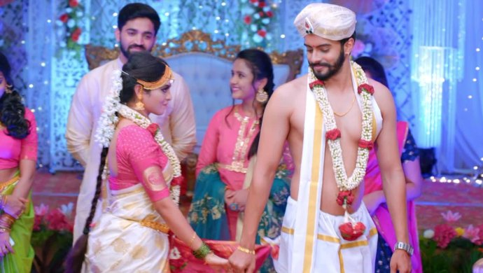 Gattimela 23 March 2020 Preview_ Vikranth And Aarthi's Marriage Takes Place