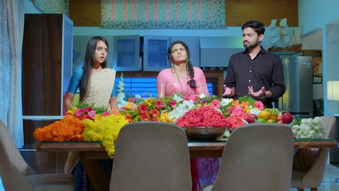 Gattimela 30 March 2020 Written Update_ Adya And Amulya Make Arrangements For The Night
