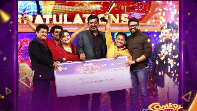 Rakesh Poojary wins the title for Season 3
