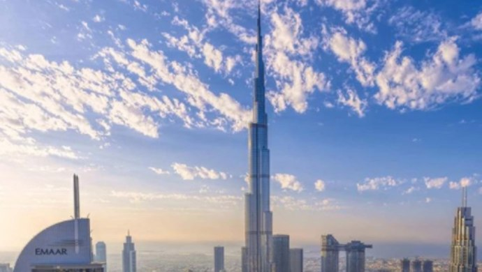 Dubai's Burj Khalifa Turns Into The World's Largest Donation Box