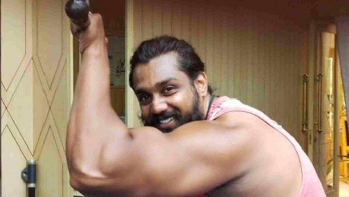 Kannada Superstar Dhruva Sarja Shares His Workout Video On Social Media