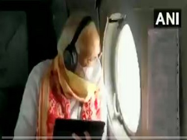 PM Narendra Modi Undertakes An Aerial Survey Of Areas In West Bengal Affected By Cyclone Amphan