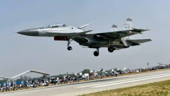 Indian Air Force Conducts Military Exercise With Indian Army Near China Border