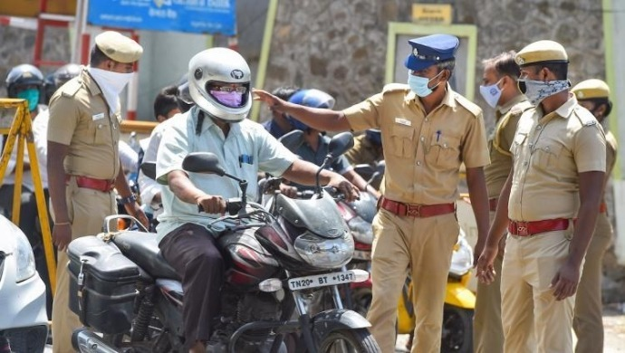 Trichy Cop Under Scanner After Slapping Old Man Over Minor Incident
