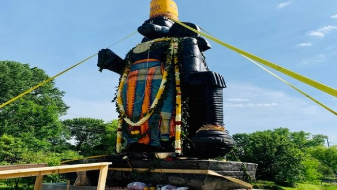 Tallest Statue Of Lord Hanuman In Delaware Inaugurated In The US