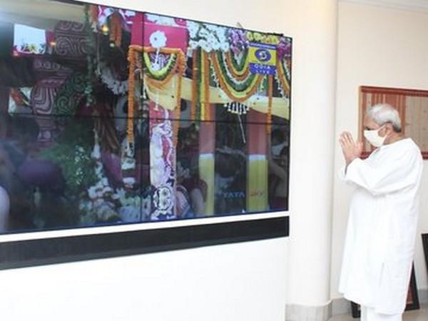 CM Naveen Patnaik Virtually Attends Lord Jagannath Rath Yatra In Odisha's Puri