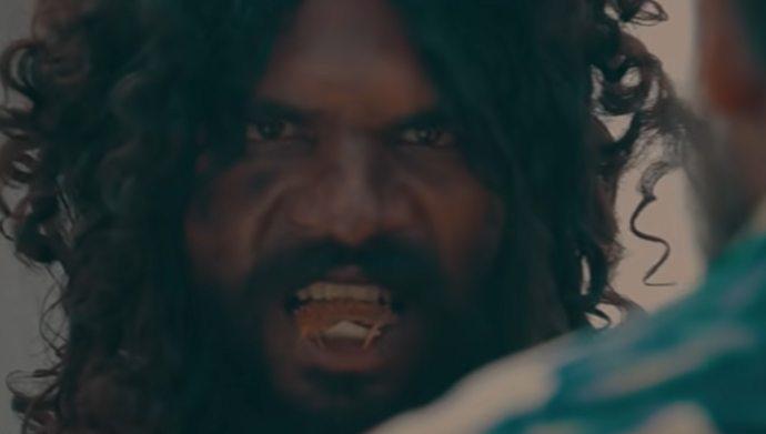 Abhinay in Meka Suri Trailer
