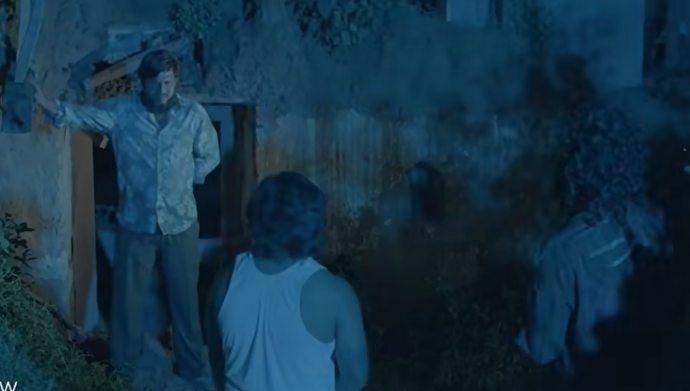 Abhinay with other men in Meka Suri Trailer