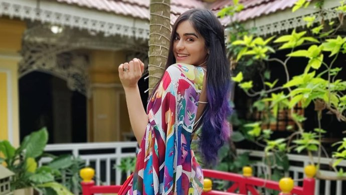 Adah Sharma's Vibrant Floral Dress With Laces Will Give You Summer Vibes In Winter