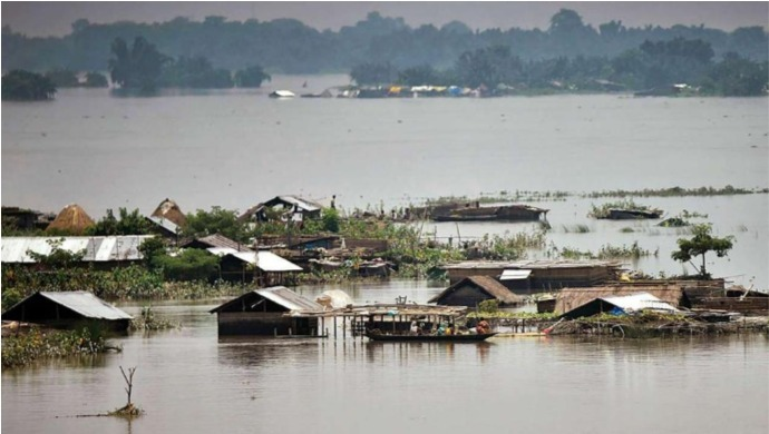 Floods Ravage Bihar and Assam, 37 Lakh People Affected