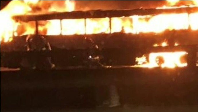 State Transport Bus In Baramati, Maharashtra Catches Fire; No Casualties Reported