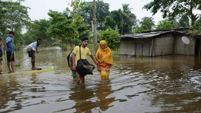 Bihar And Assam Flood Situation Continues To Worsen Amidst Heavy Rains