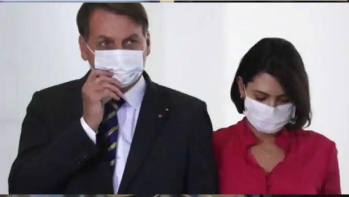 COVID-19: Brazil President Bolsonaro's Wife, Minister Test Positive