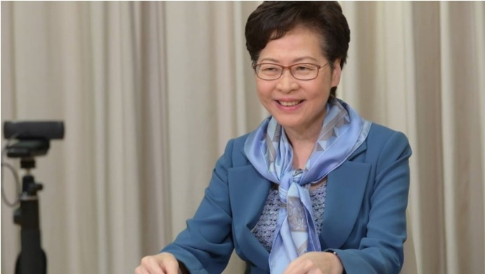 Chief Executive Carrie Lam Ropes In PR Firm To Rebuild Hong Kong's Positive Image