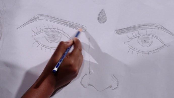 Chaithra's sketch in Ninne Pelladatha