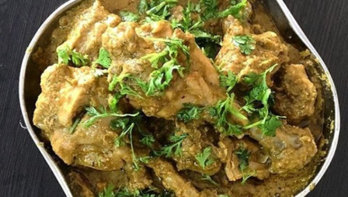 Learn How To Make Green Chicken Fry From Oggarane Dabbi!